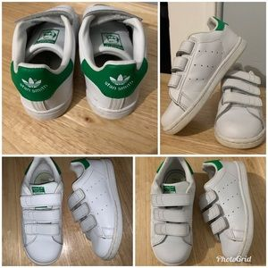 Toddler boy Velcro strap Stan Smith size 10C